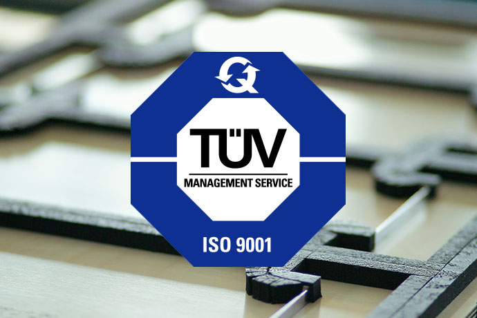 TÜV Siegel ISO 9001 Qualität