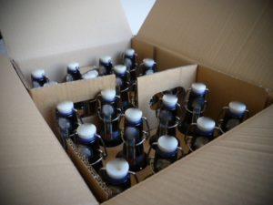 Flaschen per Post versenden
