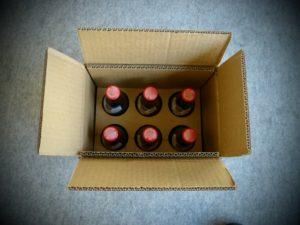 Postversand Karton Flaschen